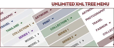 Unlimited XML Tree Menu